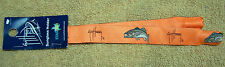 GUY HARVEY SUNGLASSES STRAP CROAKIE RETAINER BASS ORANGE RIBBON NWT