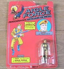 EAGLE FORCE STRYKER 1980s DIE-CAST ACTION FIGURE TOY SOLDIER- FRENCH VERSION-NEW