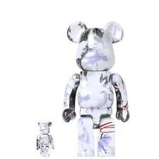 Medicom BE@RBRICK Futura 100% & 400% Bearbrick Set