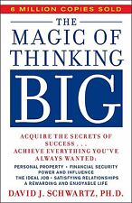 *New Paperback* THE MAGIC OF THINKING BIG by David Schwartz