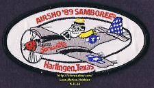 LMH PATCH Badge  '89 SAMBOREE AIRSHO Airshow GOOD SAM CLUB Air Show TX  Samantha