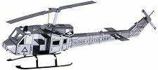 UH-1 Huey Bell Helicopter: Metal Earth 3D Laser Cut  Miniature Model Kit
