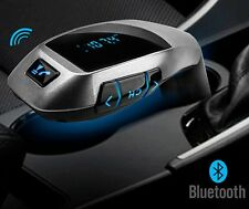 Wireless Bluetooth FM Transmitter MP3 Player Radio Car Charger Blu Ray Button US