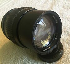 HELIOS 135mm 1:2.8 PRIME PORTRAIT LENS with PENTAX M42 MOUNT in EXCELLENT COND.