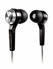 PHILIPS she8500 in-ear Solo Cuffie-Argento/Nero