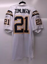 Reebok Official NFL Equipment Tomlinson 21 San Diego Chargers Jersey Size 54