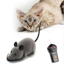 Nice Wireless Remote Control RC Electronic Rat Mouse Mice Toy For Cat Puppy Gift