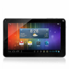 "9"" Google Android 4.4 Tablet PC A23 Dual Core 8GB Dual 2 Camera Wi-Fi Black HOO"