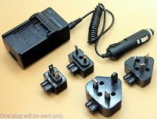 Battery Charger For CGA-S007A/1B Panasonic Lumix DMC-TZ1 DMC-TZ4 DMC-TZ5 Camera