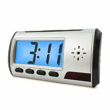 Mini Alarm Clock Remote Wireless DVR USB Motion Digital Hidden Spy Camera DV Cam