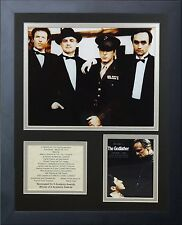 11x14 FRAMED 1972 THE GODFATHER CAST LIST MARLON BRADO AL PACINO 8X10 PHOTO