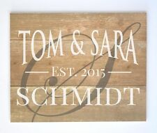 The Archway Pallet Sign Personalized 16 x 20