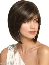 SIN CITY WIGS NORIKO JOLIE IN CHOCOLATE SWIRL (COLOR ON MODELS) SEXY CHIC BOB
