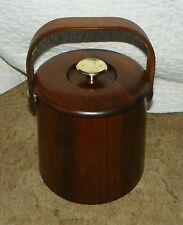 Vintage Solid Walnut Bucket  (HD33)