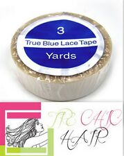 "TRUE-BLUE Lace Wig & Toupee Extended Wear Tape 1/2"" X 3"