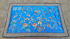 Antique Chinese Hand Embroidery Silk Wall Hanging Tapestry/Panel 84X52cm (X117)