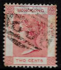 Hong Kong stamps 1880 SG 28w WM Inverted  CANC  F