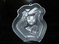 Wilton cake pan Ariel mermaid princess birthday shaped baking kitchen decor