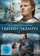 DIE GRÖßTEN HISTORISCHEN FREIHEITSKÄMPFE: EL CID/1572/ROBERT THE BRUCE 3DVD NEU