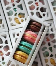 Long Hollow Macaron Cupcake Container Chocolate Packing Cake Box Cookie Luxury