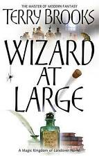 Wizard At Large: Magic Kingdom of Landover Series: Book 03,ACCEPTABLE Book