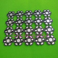 20pcs x 1W 3W 5W High Power LED Aluminum PCB 20mm Star base plate Circuit board