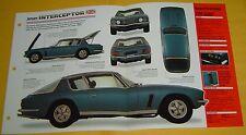 1968 Jensen Interceptor 383 or 440 Chrysler V8 330 hp IMP Info/Specs/photo 15x9