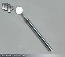 Dental Mirror WITH LIGHT Dental Instruments