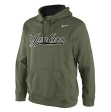 New York Yankees NIKE Therma-Fit Lights Out KO Men's XL Olive Hoodie $75