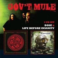 Gov't Mule - Life Before Insanity & Dose  2CDs   NEUWARE
