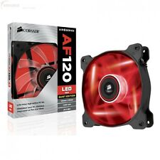 Corsair Air AF120 LED RED Quiet 12cm 120mm Single PC Case Fan - CO-9050015-RLED