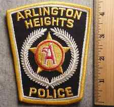ARLINGTON HEIGHTS ILLINOIS POLICE PATCH (HIGHWAY PATROL, SHERIFF, EMS, STATE)