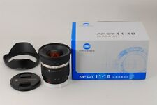 【A- Mint in Box】 MINOLTA AF DT ZOOM 11-18mm f/4.5-5.6 D Lens for Sony JAPAN#2266