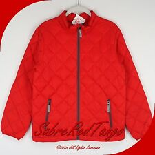 NWT HANNA ANDERSSON WARM UP SUPERLIGHT DOWN JACKET COAT APPLE RED 160 14