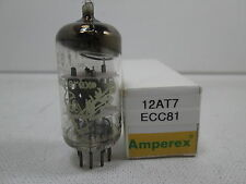 AMPEREX BUGLE BOY 12AT7 ECC81 Audio Preamp VACUUM TUBE TV-7 Tested #7.2279