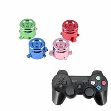 Chrome Aluminum Metal Bullet Buttons Controller Part for Sony PlayStation 4 PS4