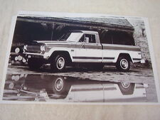 1974 JEEP PICKUP 11 X 17  PHOTO   PICTURE