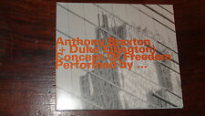 ANTHONY BRAXTON + DUKE ELLINGTON CONCEPT OF FREEDOM BY .. HatOLOGY HAT HUT SWISS