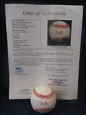 Chuck Connors Actor & MLB (Died 1992) Autographed ONL Baseball - Full JSA L.O.A.