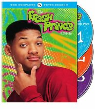 THE FRESH PRINCE OF BEL AIR the complete fifth series 5. UK compatible. New DVD.