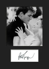 PATRICK SWAYZE #2 A5 Signed Mounted Photo Print - FREE DELIVERY
