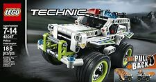 NEW LEGO Technic Police Interceptor 42047 Car 4x4 Truck Pull-back Motor Van NIB