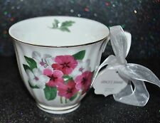 GRACE'S Teaware  Coffee/Tea MUG/CUP Garden FLOWER  MOTHER Day Present GOLD TRIM