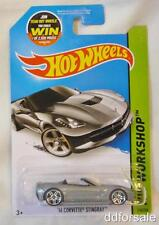 2014 Corvette Stingray 1/64 Die-cast Model From HW Workshop by Hot Wheels