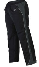 Clearance New Gilbert Rugby Storm Waterproof Training Trousers Small -Black Grey