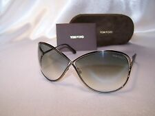 NEW! Authentic Tom Ford Sunglasses Miranda FT0130 36F bronze brown