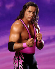 Pro Wrestler BRET THE HITMAN HART Glossy 8x10 Photo WWF Print Poster HOF 2006