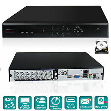 iSmart H.264 16CH Channel D1 DVR Video Recorder CCTV Security System and 1TB HDD