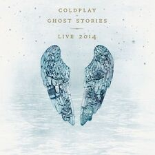 COLDPLAY - GHOST STORIES LIVE 2014  CD + DVD NEU