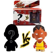 Kidrobot Street Fighter BALROG Mini Figure 2-Pack Blind packed opponent NIP